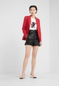 Pinko - PAREGGIARE SIM - Pantaloni di pelle - black - 1