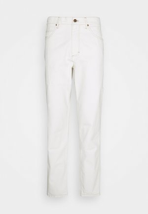 UNISEX - Džíny Relaxed Fit - white