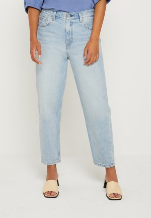 LOOSE TAPER CROP - Jean boyfriend - at the ready loose