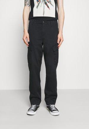 XX TAPER CARGO II - Cargo trousers - jet black