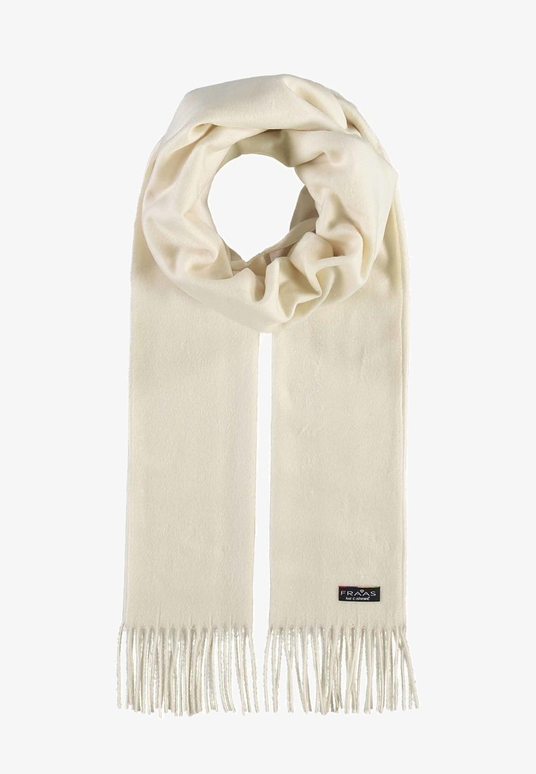Fraas - MADE IN GERMANY - Scarf - white
