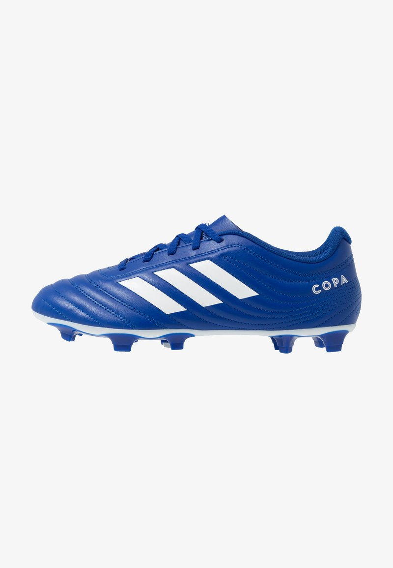 adidas Performance - COPA 20.4 FOOTBALL BOOTS FIRM GROUND - Moulded stud football boots - royal blue/footwear white