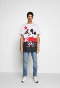 Iceberg - MICKEY MOUSE - T-shirt con stampa - bianco ottico - 1
