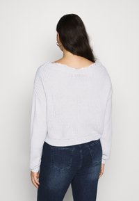 Missguided Plus - SHOULDER JUMPER - Jumper - grey - 3