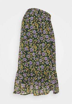 PCMVIANA MIDI SKIRT - A-line skirt - black