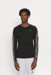 SQUATWOLF - LIMITLESS FULL SLEEVES TEE - Long sleeved top - black - 0