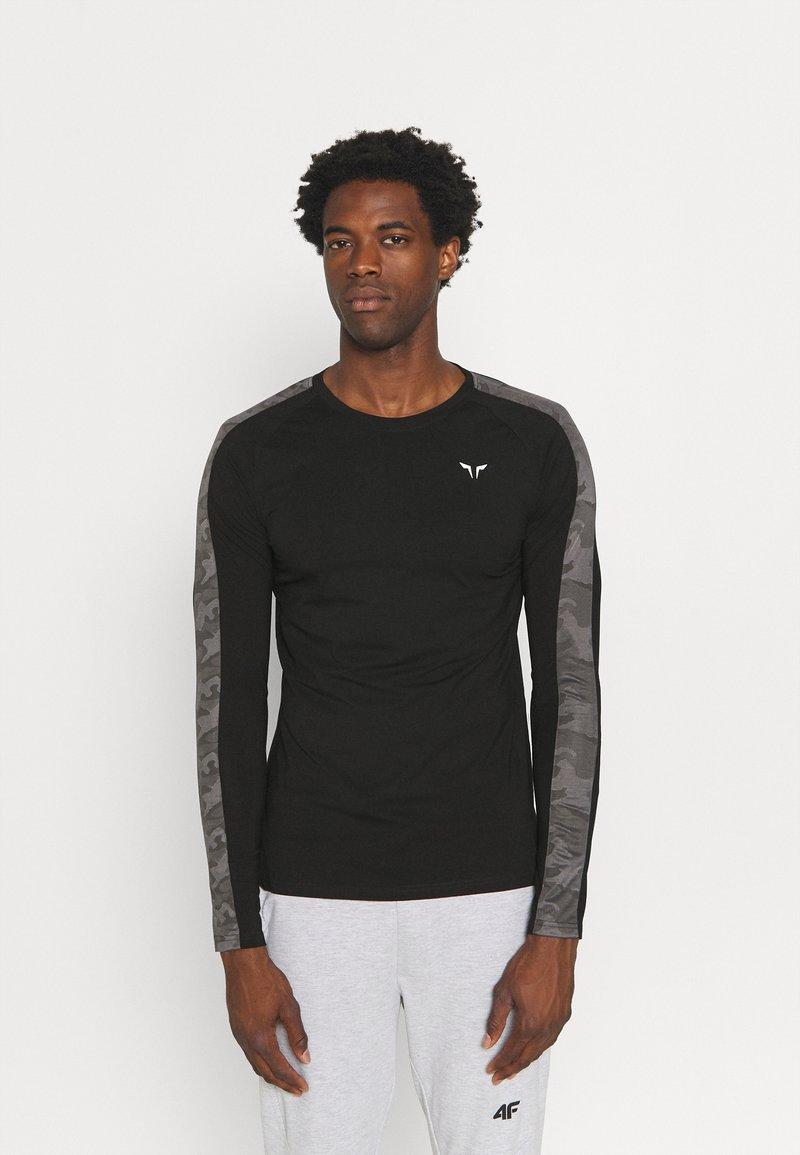 SQUATWOLF - LIMITLESS FULL SLEEVES TEE - Long sleeved top - black