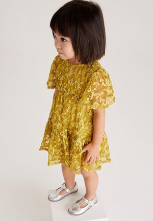 LACE TIERED - Cocktail dress / Party dress - olive