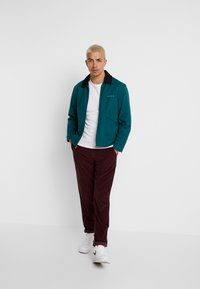 1904 - TAPERED - Trousers - red - 1