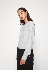 Even&Odd - Long sleeved top - light grey - 3