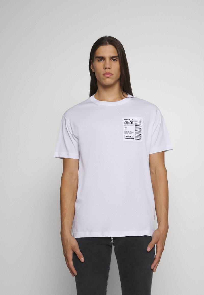 Versace Jeans Couture - Triko spotiskem - bianco ottico