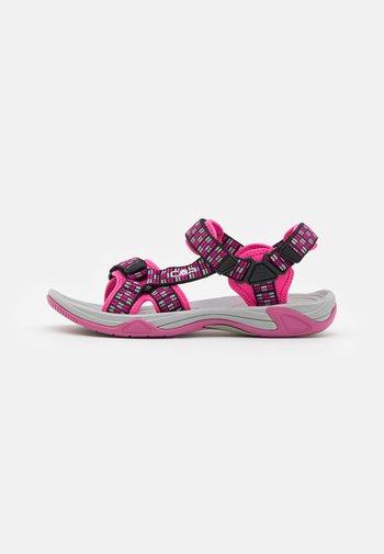 HAMAL UNISEX - Walking sandals - hot pink