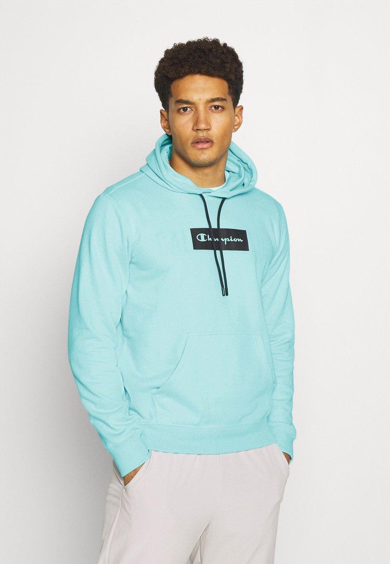Champion - HOODED - Sweatshirt - turquoise