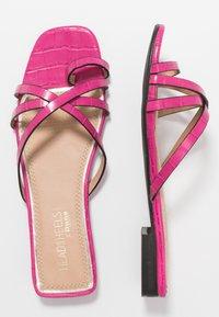 Head over Heels by Dune - LILLYY - Sandály s odděleným palcem - fuschia - 3