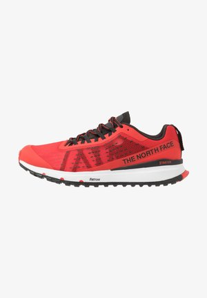 MEN'S ULTRA SWIFT - Trail running shoes - fiery red/black