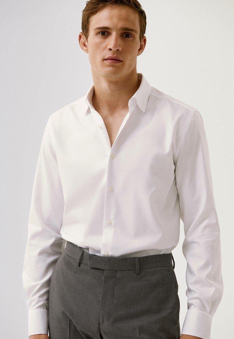 Massimo Dutti - SLIM-FIT - Formal shirt - white