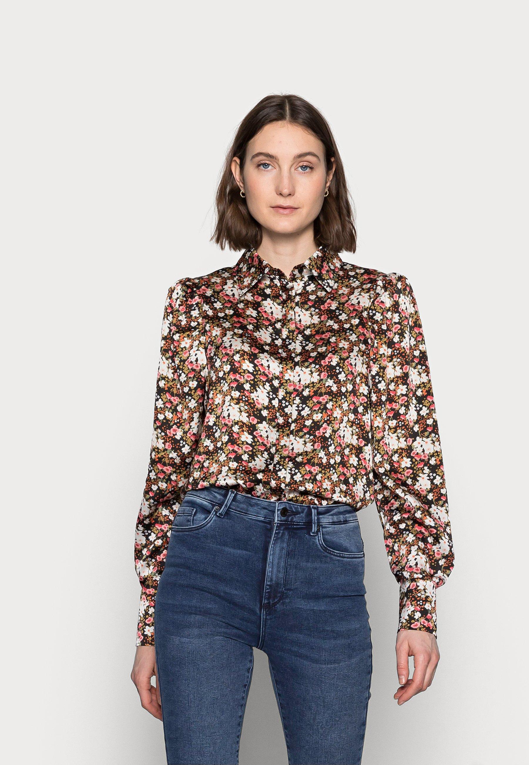 Women LADIES SHIRT WINTER DITSY FLORAL - Button-down blouse