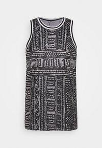 Nike Performance - DRY CITY EXPLORATION SEASONAL - Sports shirt - black/white - 3