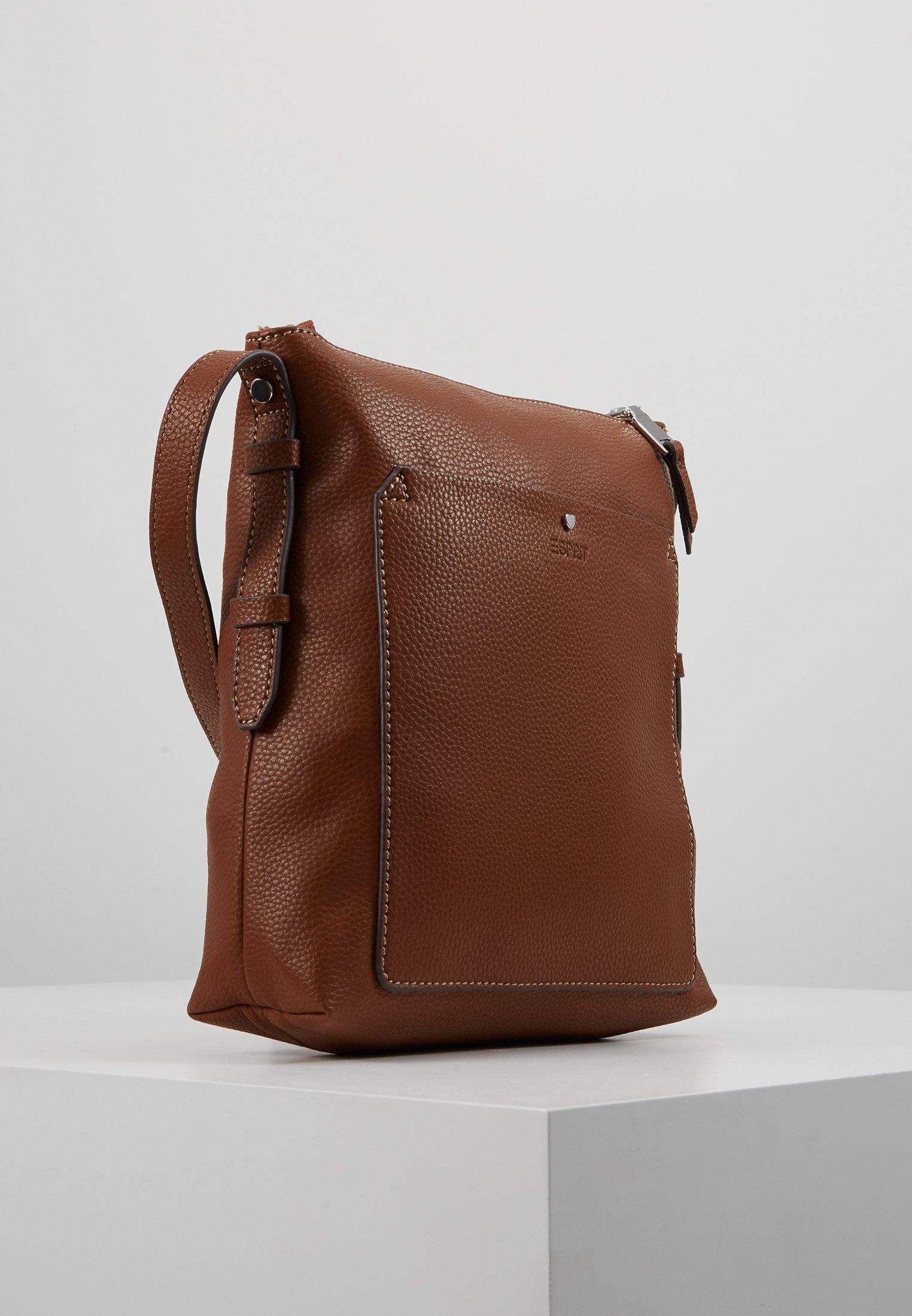 Esprit NELL Skulderveske rust brown Zalando.no