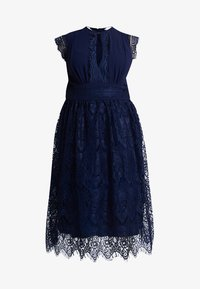 TFNC Curve - EXCLUSIVE FILLY MIDI DRESS - Abito da sera - navy - 4