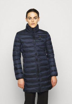 IMPERMEABILE LUNGHI IMBOTTITO - Down coat - dark blue