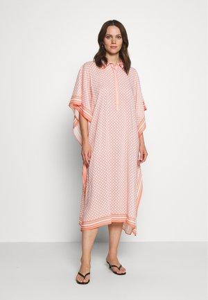MOLLIE KAFTAN - Shirt dress - peach blush