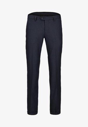 ANZUGHOSE NADELSTREIFEN - Suit trousers - dark navy