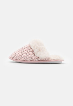 NEQUIN SEQUIN MULE - Slippers - light pink