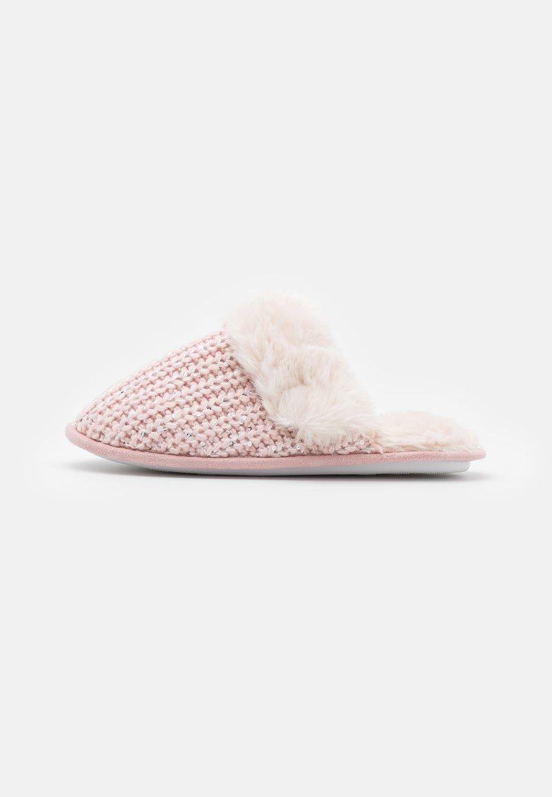 New Look - NEQUIN SEQUIN MULE - Slippers - light pink