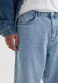 PULL&BEAR - Straight leg jeans - blue denim - 3