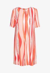Barbara Lebek - Day dress - coral/ orange/ taupe - 4