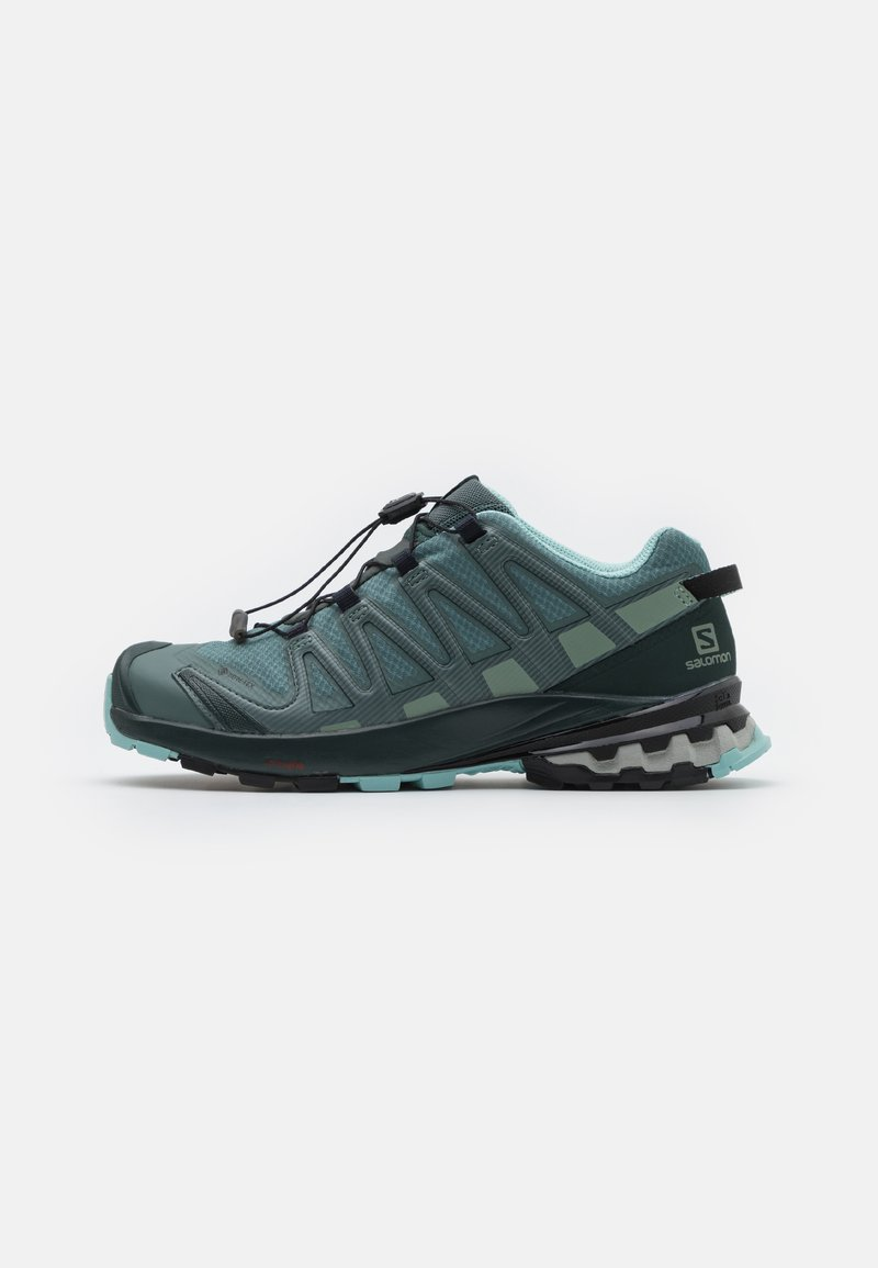 Salomon - XA PRO 3D V8 GTX - Trail running shoes - balsam green/green gables/pastel turquoise