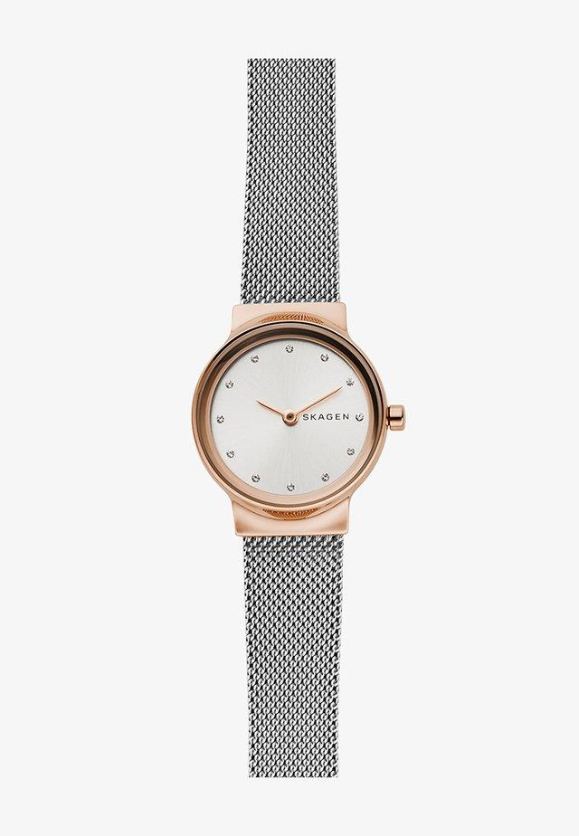 FREJA - Hodinky - silver-coloured