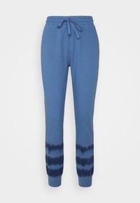 GAP - TIE DYE - Tracksuit bottoms - blue - 0