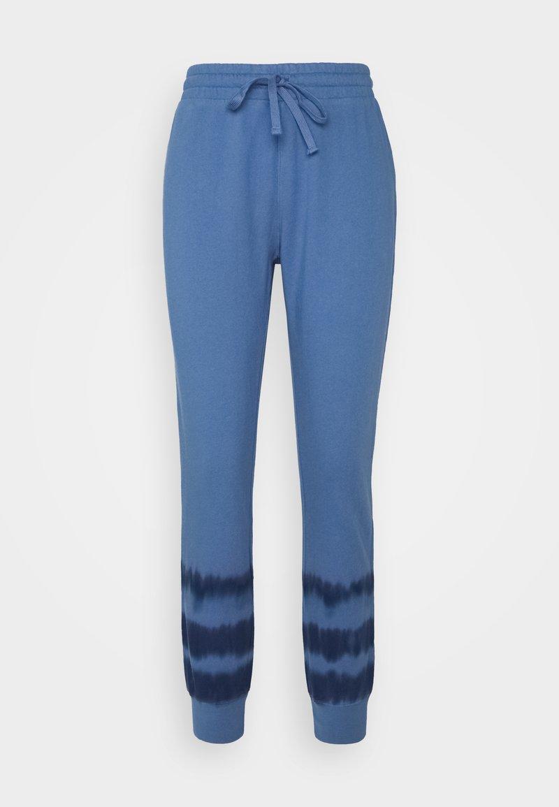GAP - TIE DYE - Tracksuit bottoms - blue
