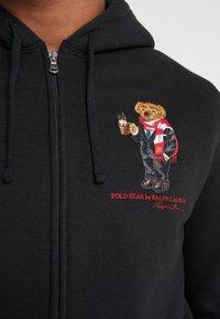 Polo Ralph Lauren - MAGIC  - veste en sweat zippée - polo black - 4