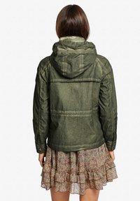 khujo - SHAMA - Summer jacket - olive - 2