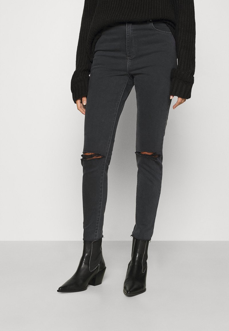 Abrand Jeans - ANKLE BASHER  - Jeans Skinny Fit - midnite