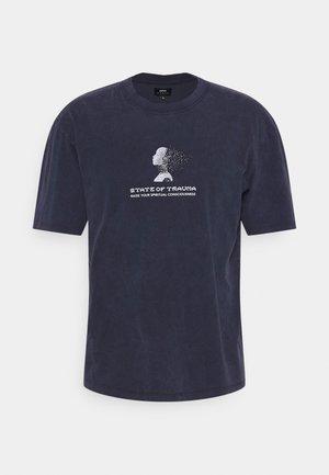 INNER SELF UNISEX - Print T-shirt - maritime blue