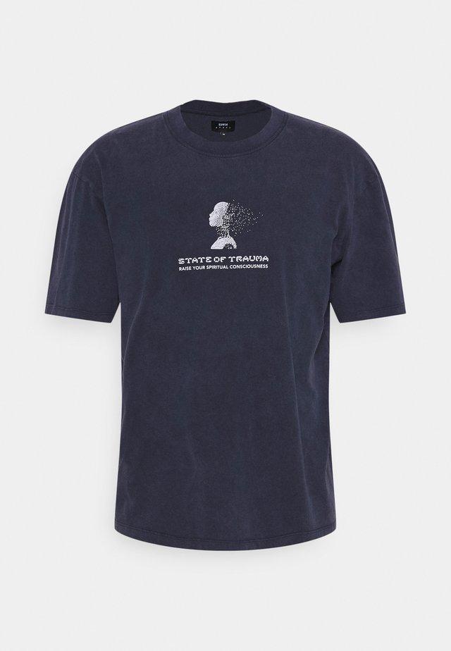 INNER SELF UNISEX - T-shirt imprimé - maritime blue