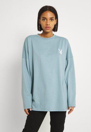 PLAYBOY T-SHIRT - Print T-shirt - grey