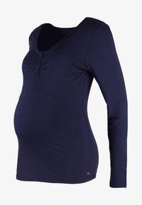 Esprit Maternity - Camiseta de manga larga - night blue - 5