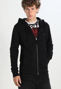 AllSaints - RAVEN - Zip-up hoodie - black - 0