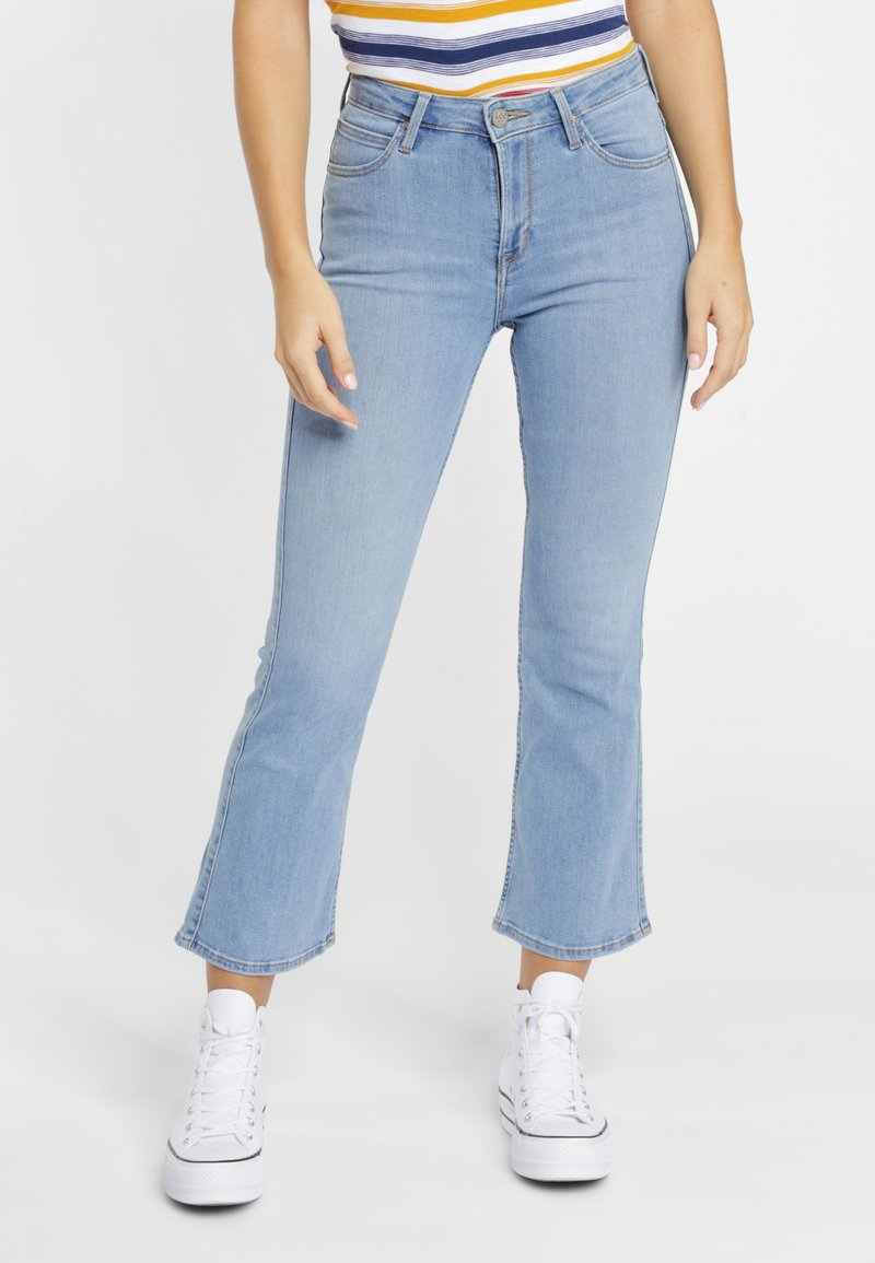 Lee - BREESE - Flared Jeans - blue