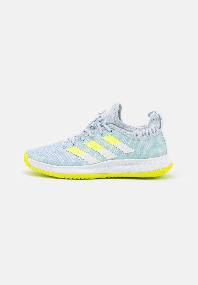 adidas Performance - DEFIANT GENERATION  - Multicourt tennis shoes - half blue/solar yellow/footwear white