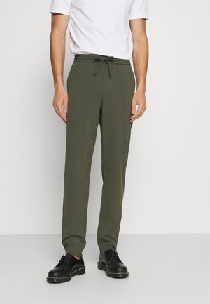 CLUB PANTS WITH DRAWSTRING - Trousers - army