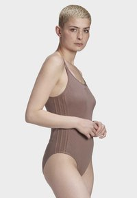 adidas Originals - RIBBED BODYSUIT - Body - brown - 4
