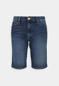 Tommy Jeans - MID RISE BERMUDA SAE - Denim shorts - blue denim - 4
