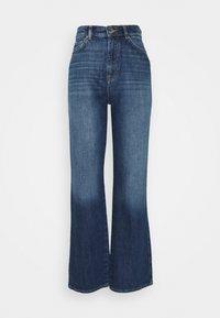 ONLY - ONLMILOH LIFE WIDE  - Jeans bootcut - dark-blue denim - 0