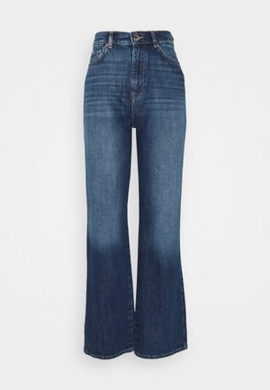 ONLMILOH LIFE WIDE  - Bootcut jeans - dark-blue denim